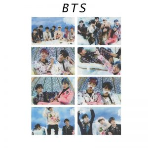 BTS Album Card