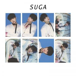 BTS Album Card Suga