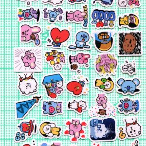 BTS Stickers 40pcs