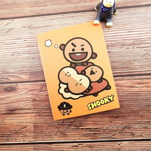 BTS Notebooks Shooky