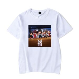 BTS Tiny Tan T-Shirt #4